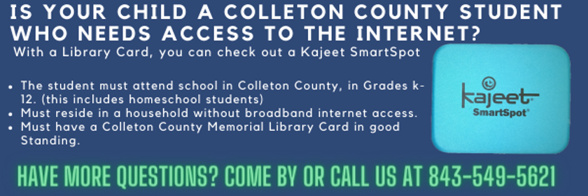 are you a colleton county resdient with