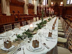 Long table table dressing