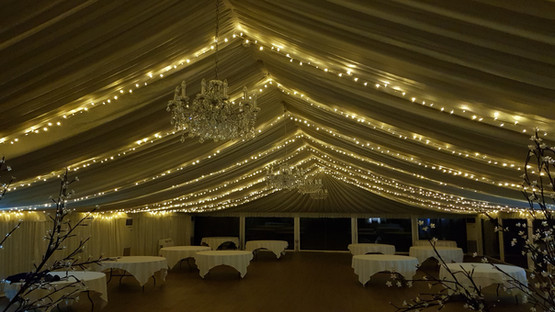 Venue Ceiling Dressing