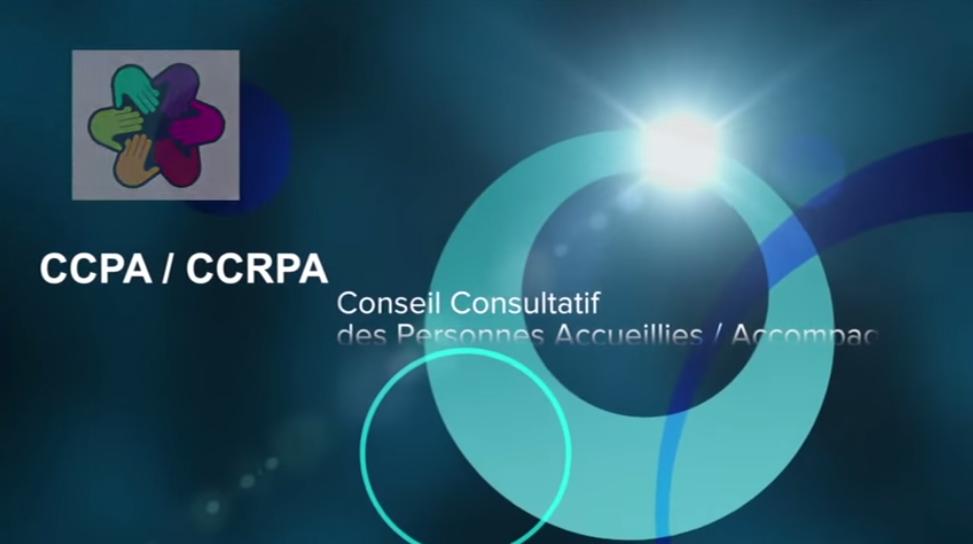 Présentation vidéo CCPA / CCRPA