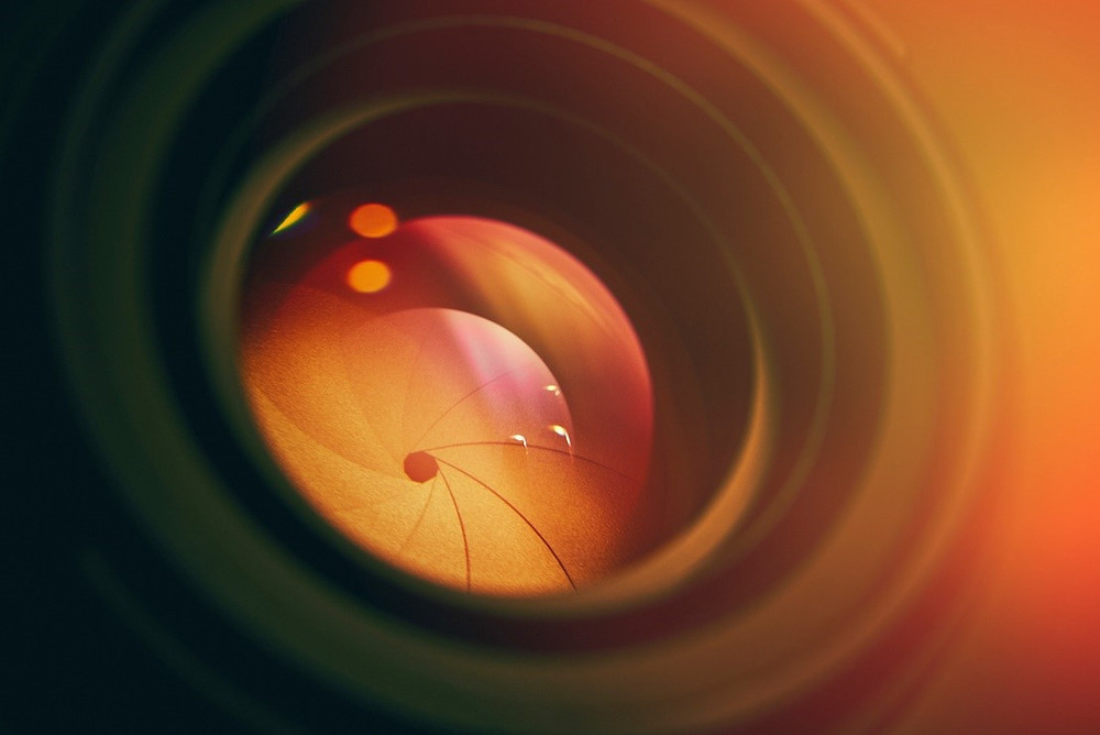 camera DSLR aperture blades