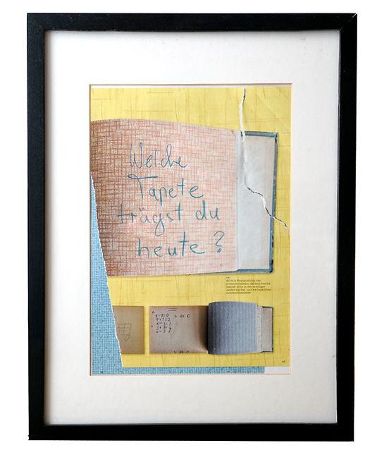 Lukas Loske Akademie der Bildenden Künste München Welche Tapete trägst du heute