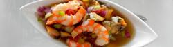 Deliciosos platillos con Mariscos