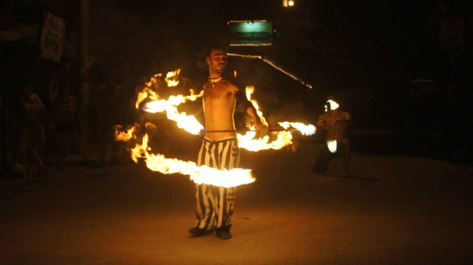 Fire show every thursday night !