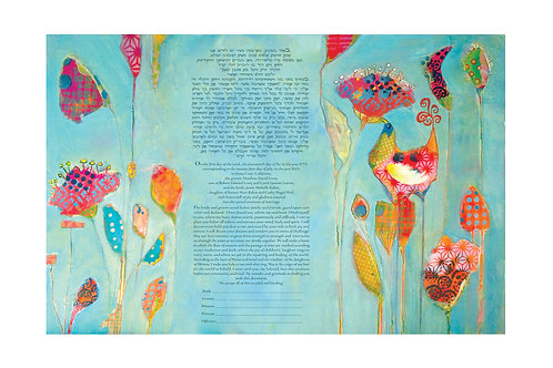 Full Bloom Ketubah