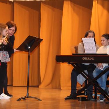 Les classes flûte et piano