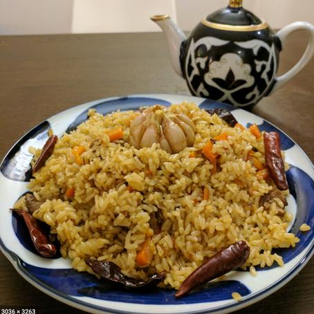 Uzbek Rice Pilaf (Плов)