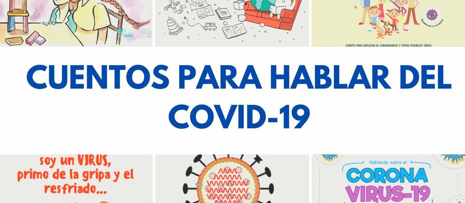 Cuentos recomendados para explicar el COVID-19 a los niños