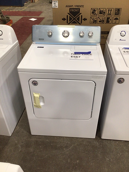 Maytag 7 CF Large Capacity Electric Dryer White- 92588
