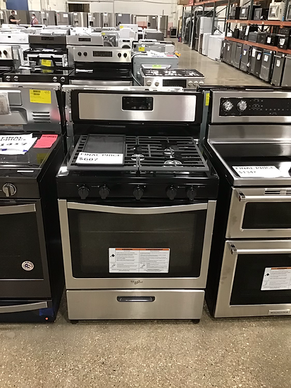 Whirlpool gas range with griddle 53013