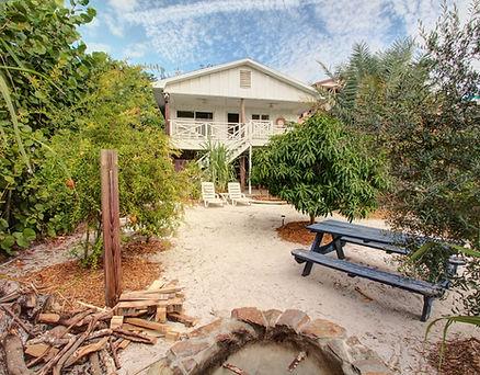 Backyard View of EIKOS BEACH HOUSE