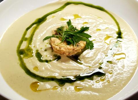 Portuguese White Gazpacho