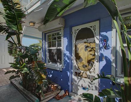 Front Door View of MERMAID BUNGALOW