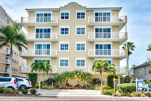 Street View of Gulf Front Beach Condo