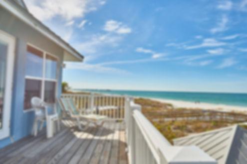 Balcony View of Fabulous Beachfront Home