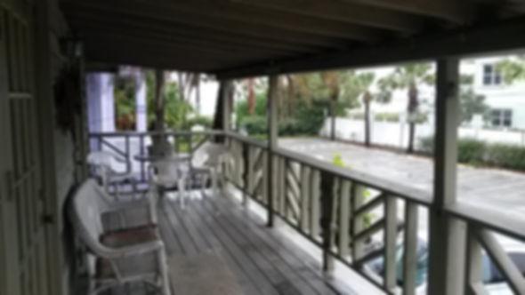 Balcony View of TIKI HUT BEACH HOUSE