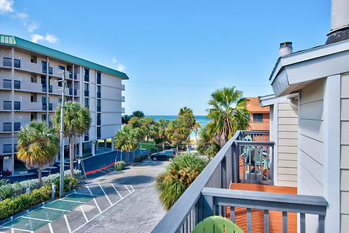 Balcony View from SERENITY COVE BEACHSIDE TOWNHOME