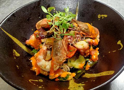 Portuguese Seafood Salad