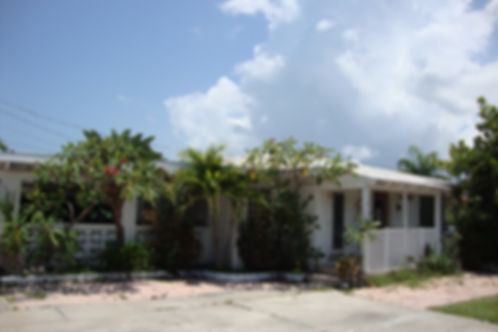 Driveway View of INTRACOASTAL GETAWAY HOME