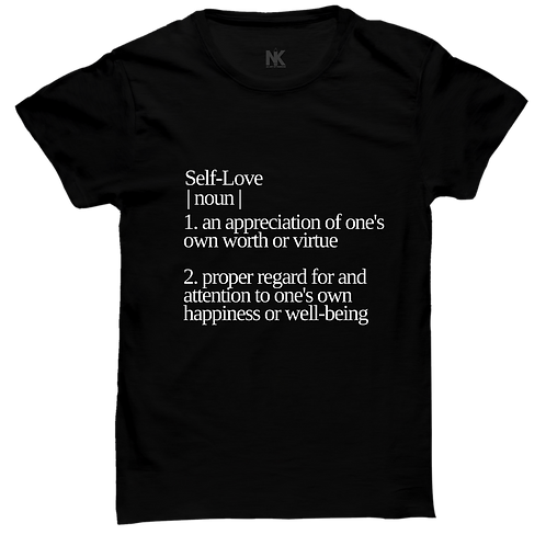 Self-Love Definition T-shirt