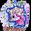 Thumbnail: Jeu de 3 cartes de souhait Je suis un petit poupon