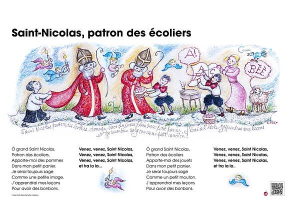 Saint-Nicolas, patron des écoliers