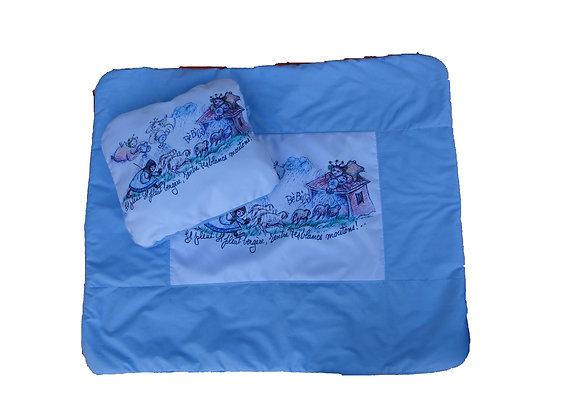 Ensemble doudou pour lit de bébé Il pleut bergère