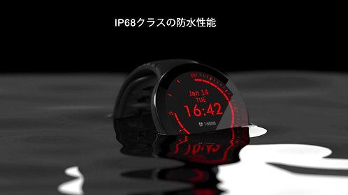E3 ヘルスケア スマートウォッチ 歩数計 活動量計 多種運動モード IP68防水 着信通知 日本語対応