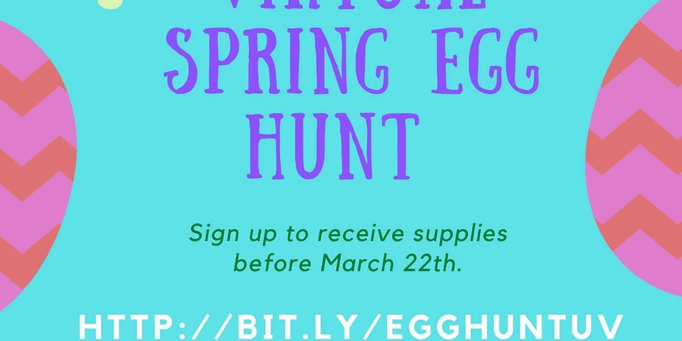 Spring virtual Egg Hunt