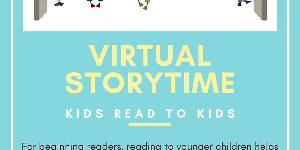 Winter Break Storytime: Kids read to kids