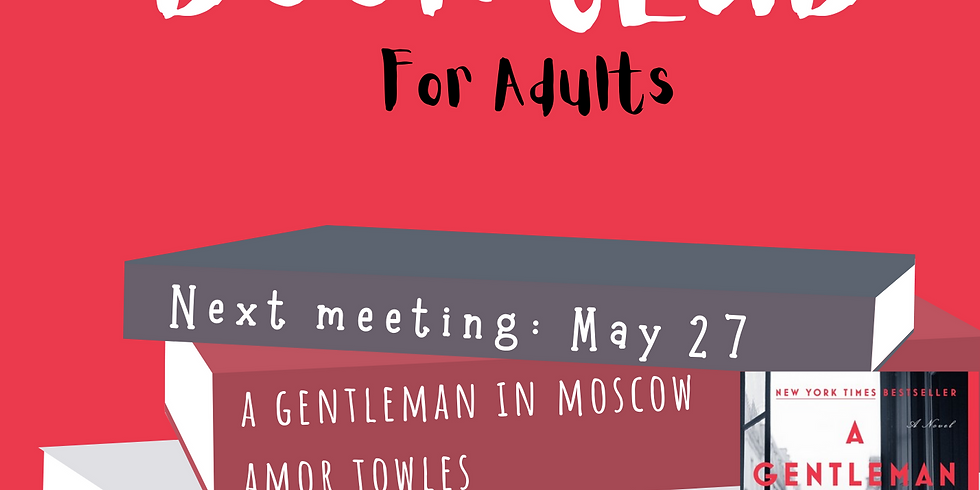 Book Club for adults
