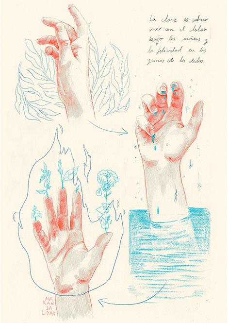 El dolor bajo las uñas