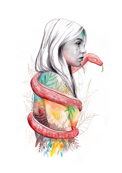 Serpiente color