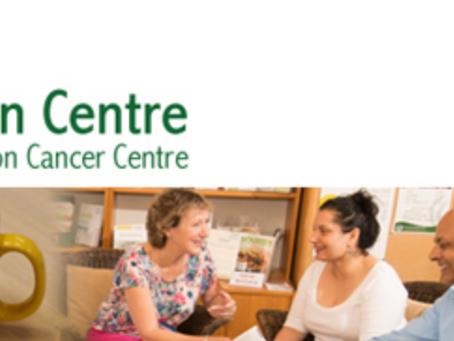 Presentation to the staff and volunteers at Lynda Jackson Macmillan Centre