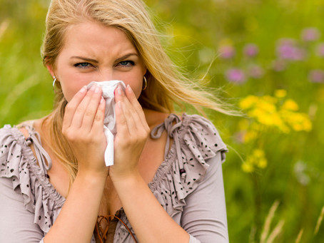 Beat hay fever in the hot weather with the science of nutrition
