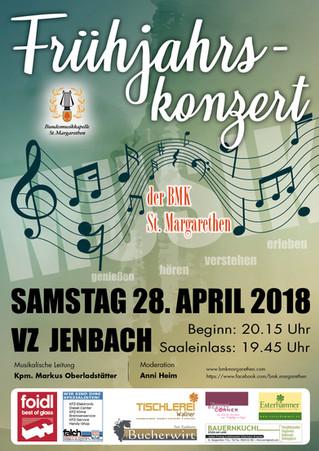 Frühjahrskonzert 28. April 2018