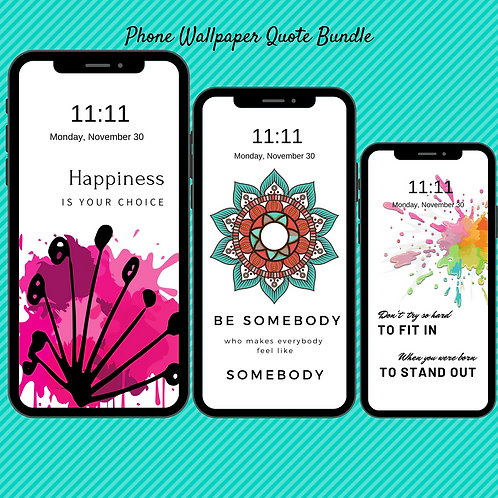 40  Positive Affirmation Phone Wallpapers