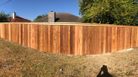 Deluxe Privacy Fence