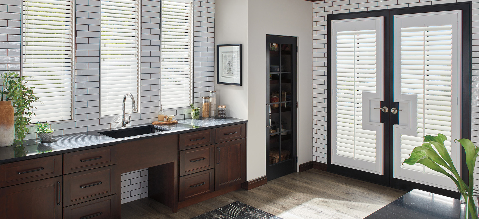 Door Shutters/Wood Blinds
