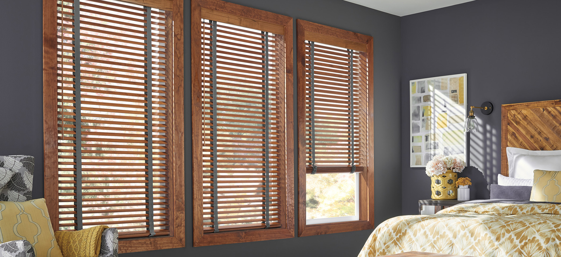 Wood Blinds/Cloth Tape