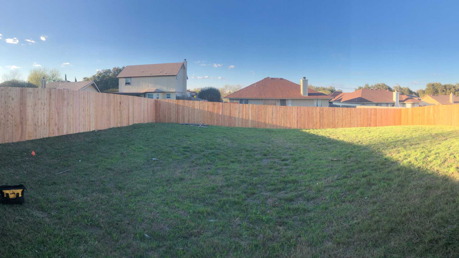 Standard Privacy Fence
