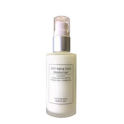 ANTI-AGING DAILY MOISTURE SPF 30, BROAD PROTECTION
