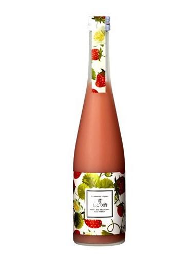 aizu-homare-strawberry-nigori-sake-japan