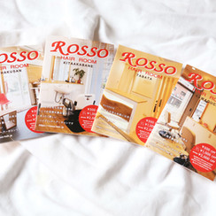 hair salon ROSSO  pamphlet renewal design