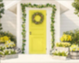 A Spring Porch - Easter & Spring Photos