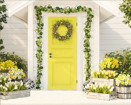 A Spring Porch - Easter & Spring Photos