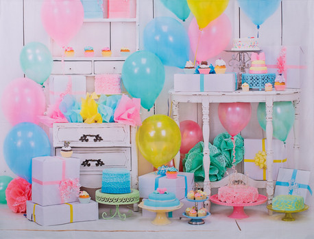Pastel Cake Party