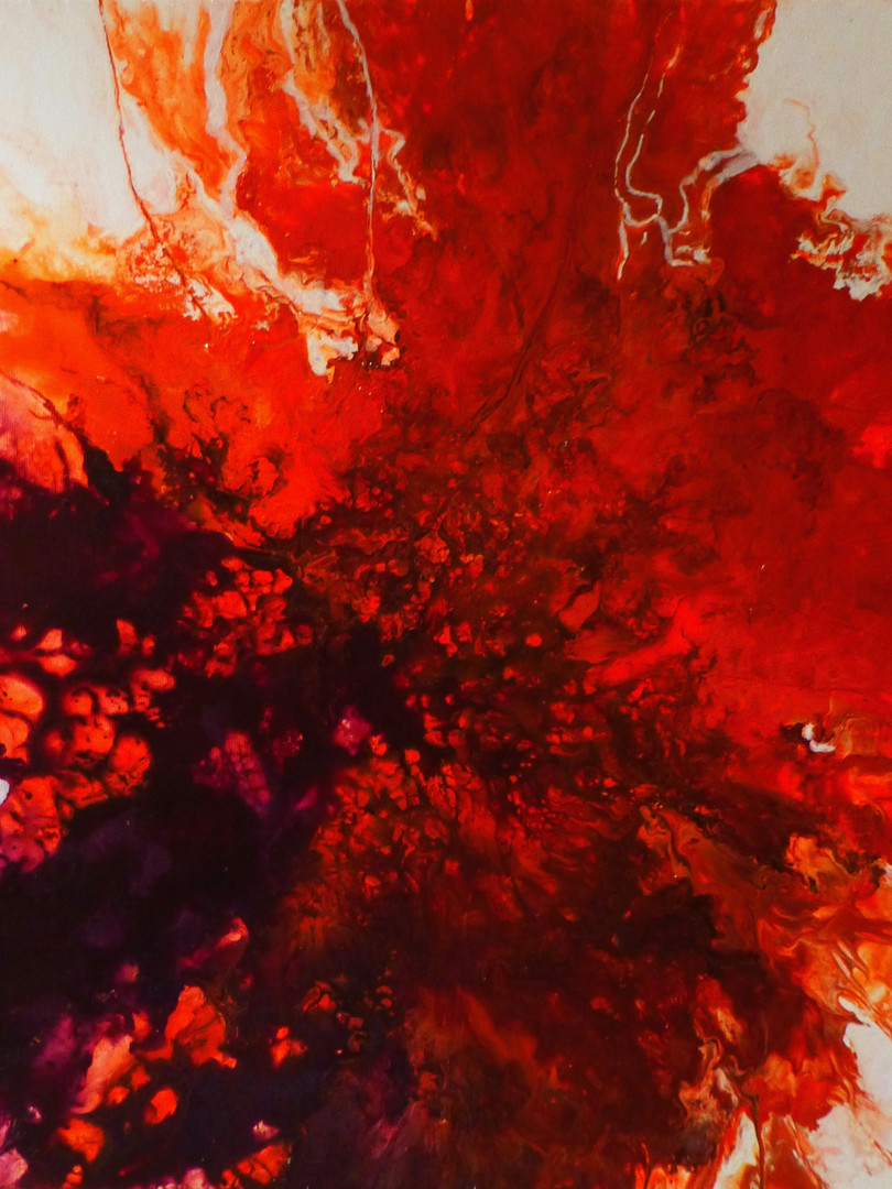 Magmolia, toile 50x50