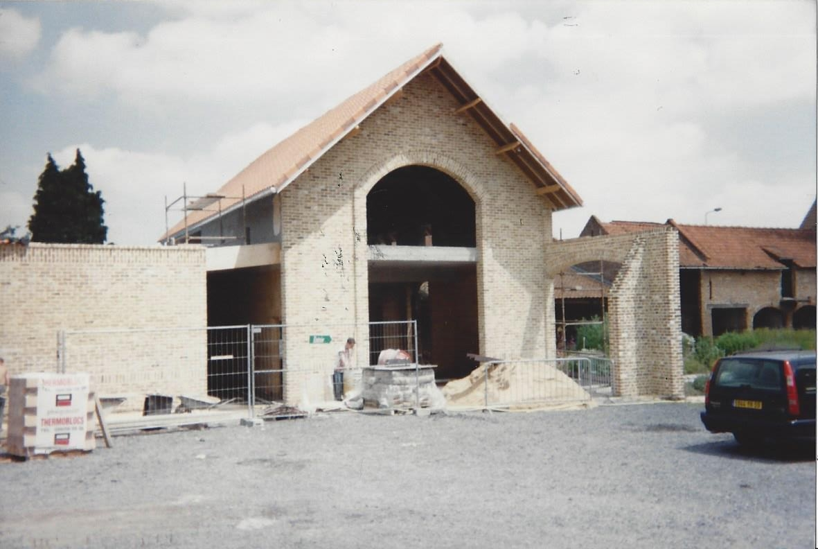Construction de la Brasserie