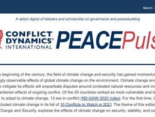CDI Peace Pulse May - June 2021